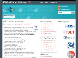 ISBO Official Website